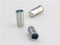 Zinc plating-blue small head full hex rivet nut